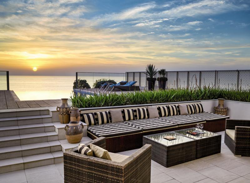 Sofitel Bahrain Zallaq Thalassa Sea & Spa Terrasse