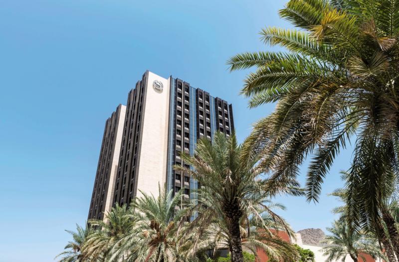 Sheraton Oman Außenaufnahme