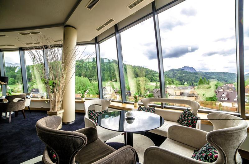 Grand Hotel Nosalowy Dwor Terrasse