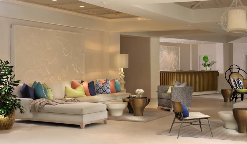 La Playa Beach & Golf Resort Lounge/Empfang