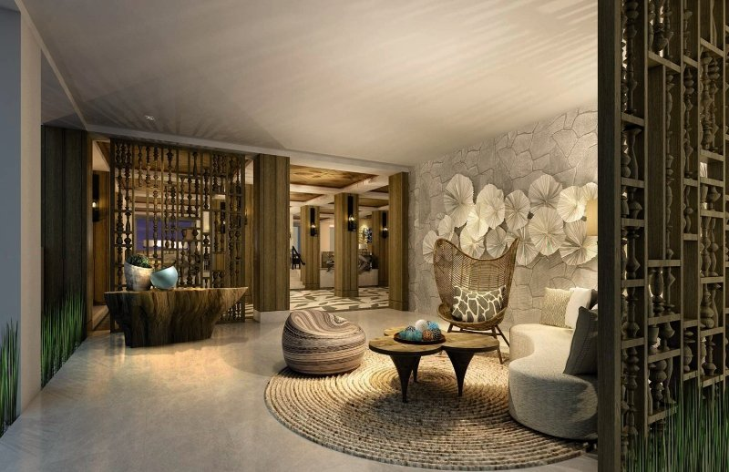 Shangri-La Le Touessrok Resort & Spa Lounge/Empfang