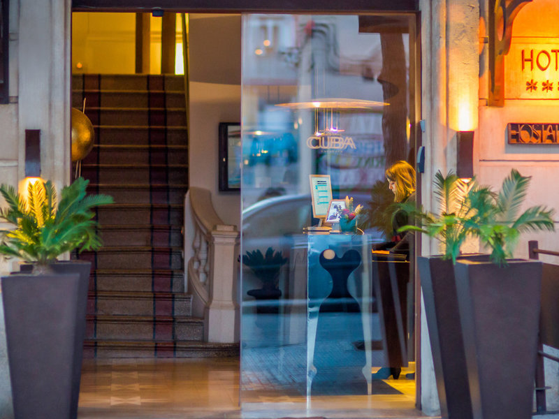 Hostal Cuba Lounge/Empfang