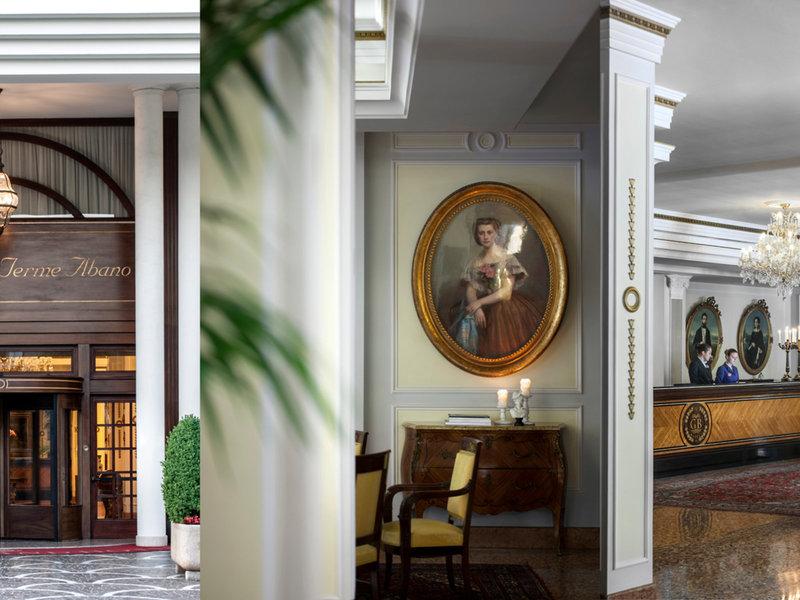 Grand Hotel Abano Terme Lounge/Empfang