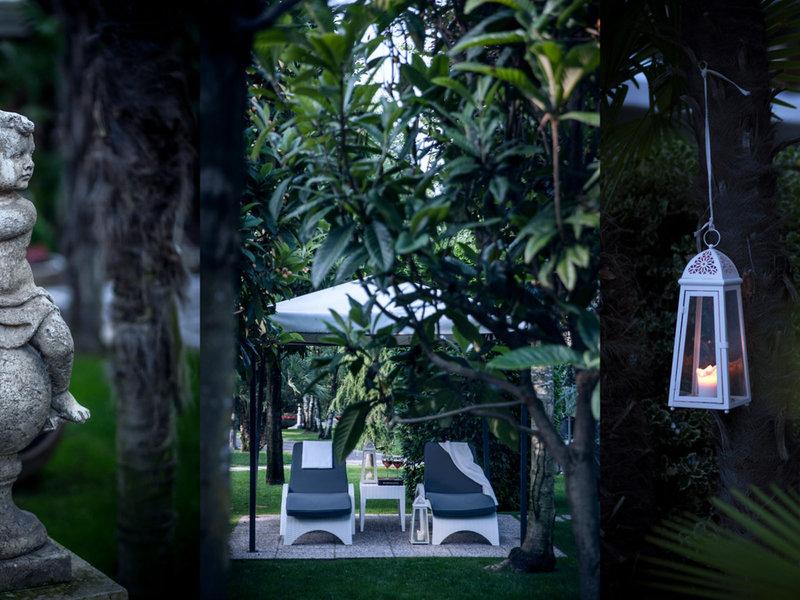 Grand Hotel Abano Terme Garten