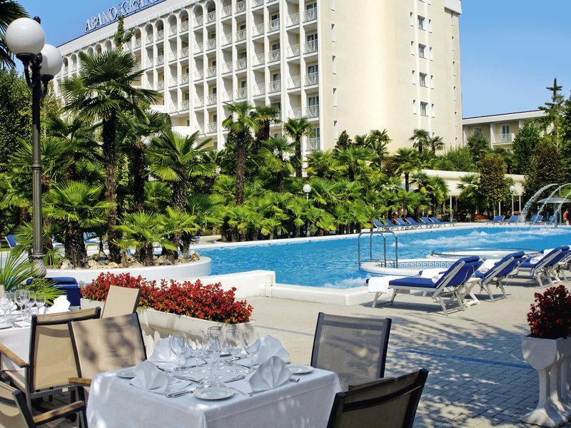 Grand Hotel Abano Terme Terrasse
