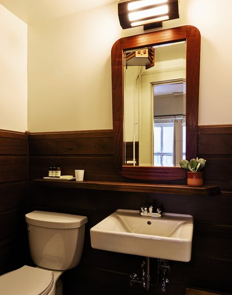 Freehand Chicago Hotel & Hostel Badezimmer