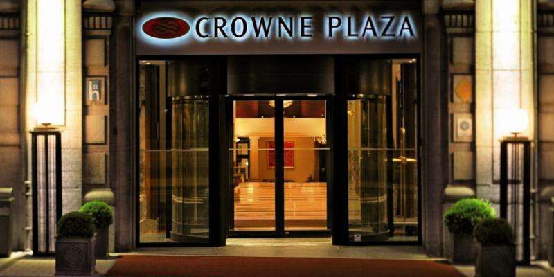 Crowne Plaza Brüssel City Center Le Palace Außenaufnahme