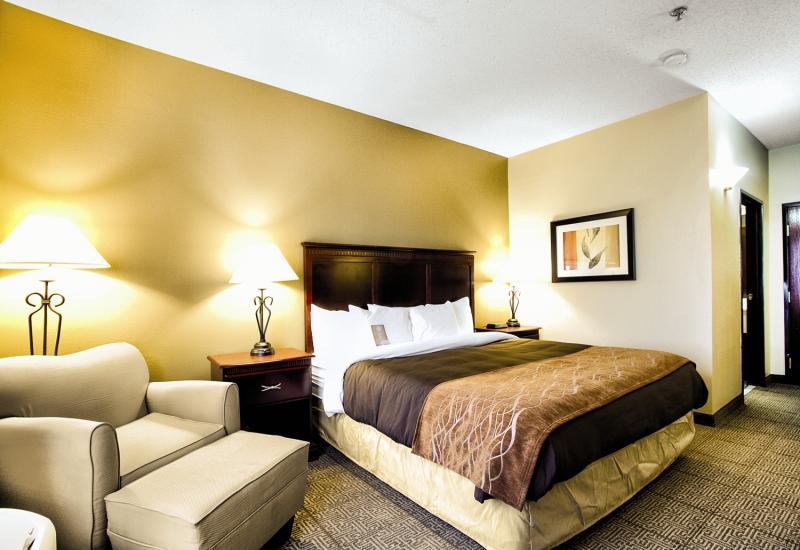 Comfort Inn & Suites Love Field - Dallas Market Center Wohnbeispiel