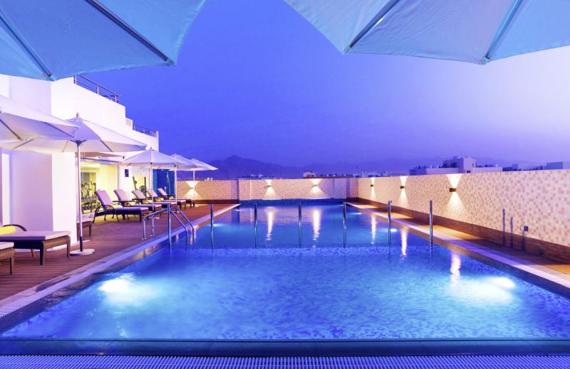 Centara Muscat Hotel Oman Hallenbad