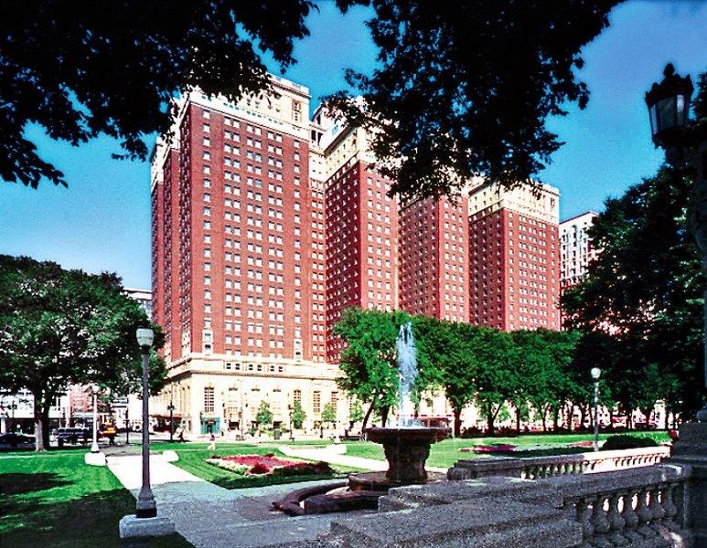 Hilton Chicago Außenaufnahme