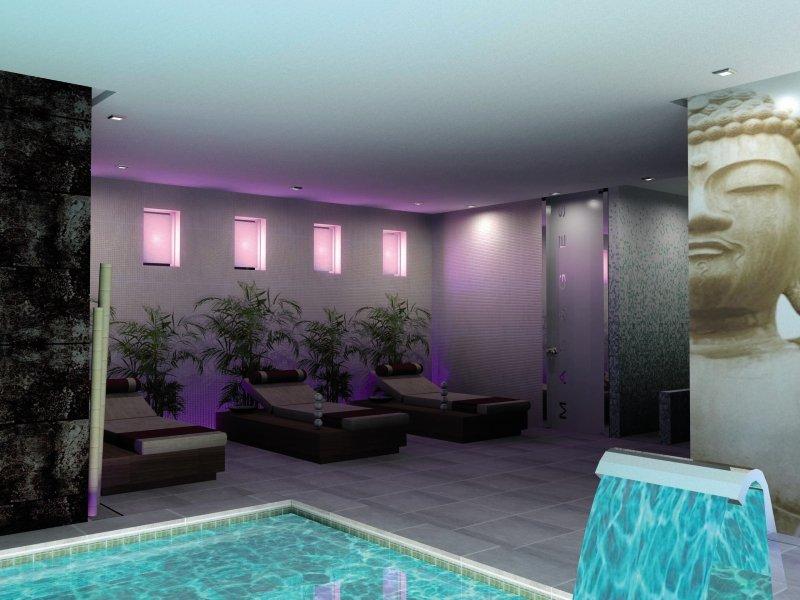 Torre Azul Spa - Erwachsenenhotel ab 16 Jahren Hallenbad