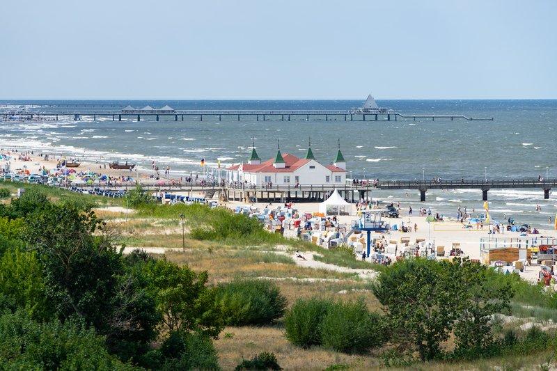 Strandhotel Ahlbeck  Landschaft