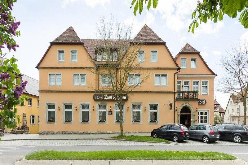 Hotel Rappen Rothenburg ob der Tauber Außenaufnahme