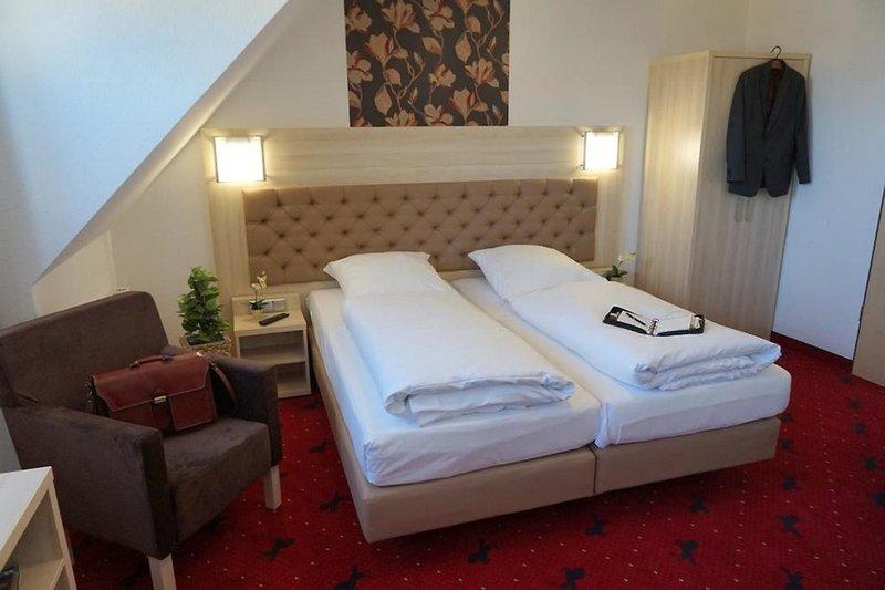 Hotel Rappen Rothenburg ob der Tauber Wohnbeispiel