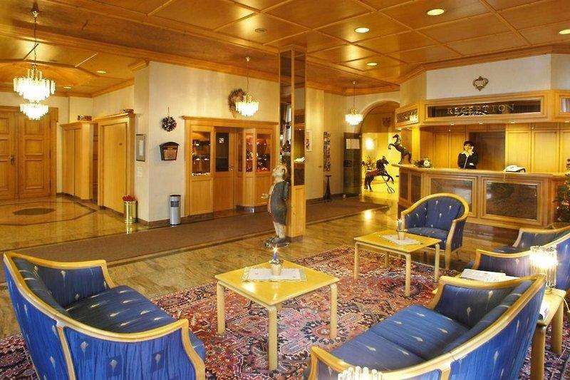 Hotel Rappen Rothenburg ob der Tauber Lounge/Empfang