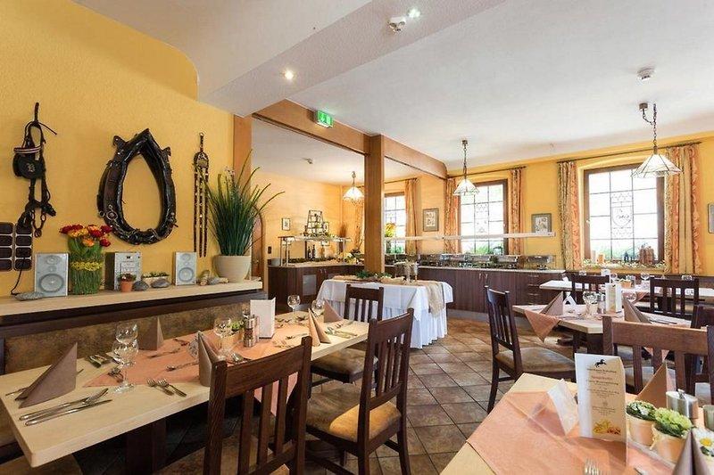 Hotel Rappen Rothenburg ob der Tauber Restaurant