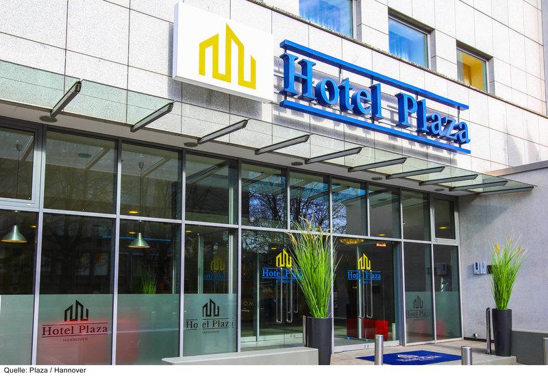 Plaza Hotel Hannover  Außenaufnahme