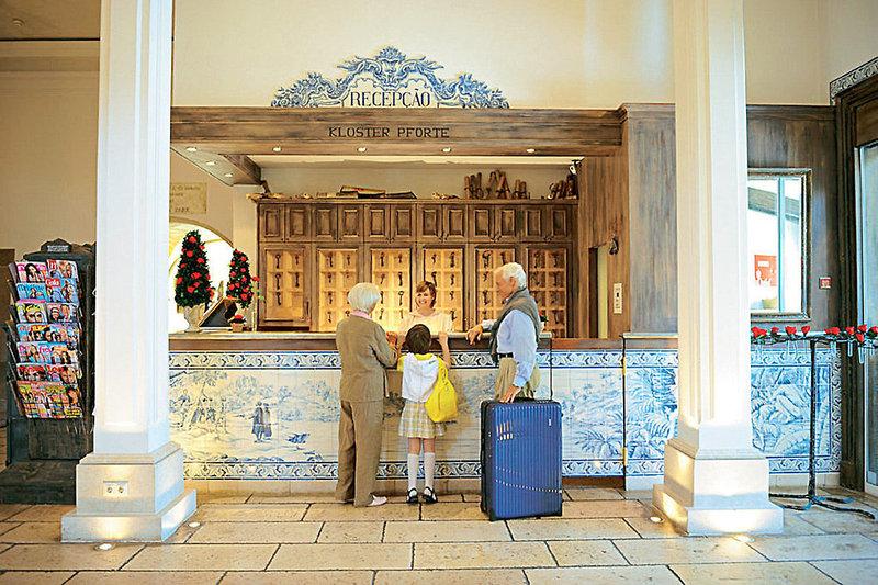 Europa-Park Santa Isabel Lounge/Empfang
