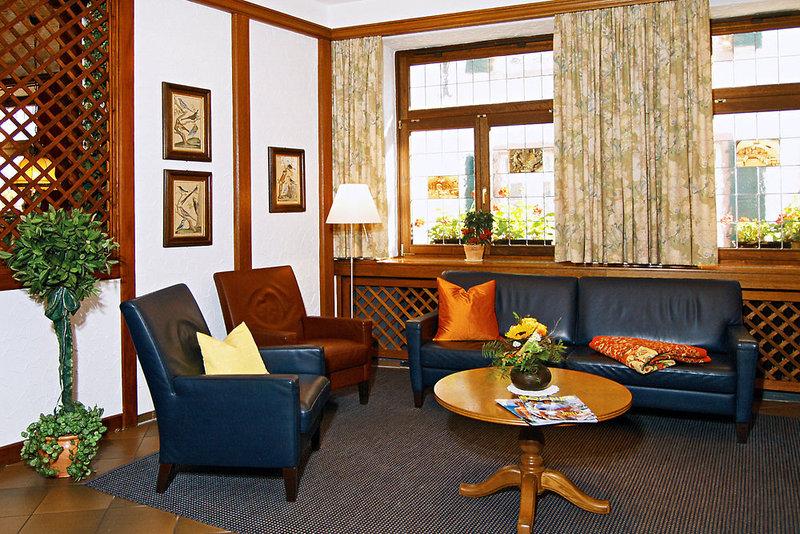 Hotel Felsenkeller Lounge/Empfang
