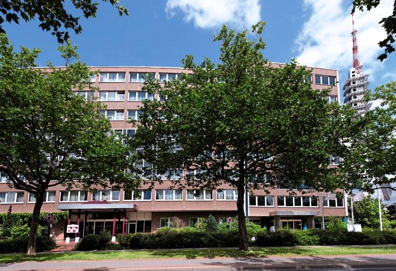 Wyndham Hannover Atrium Außenaufnahme