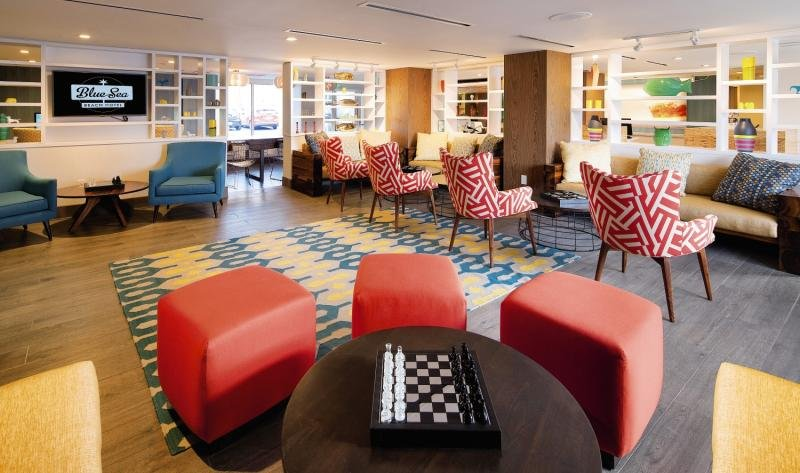 Blue Sea Beach Hotel Lounge/Empfang