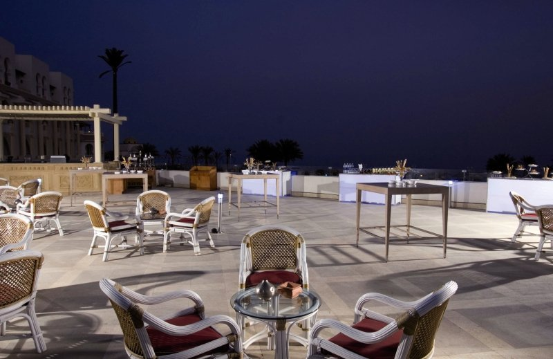 Old Palace Resort Sahl Hasheesh Terrasse