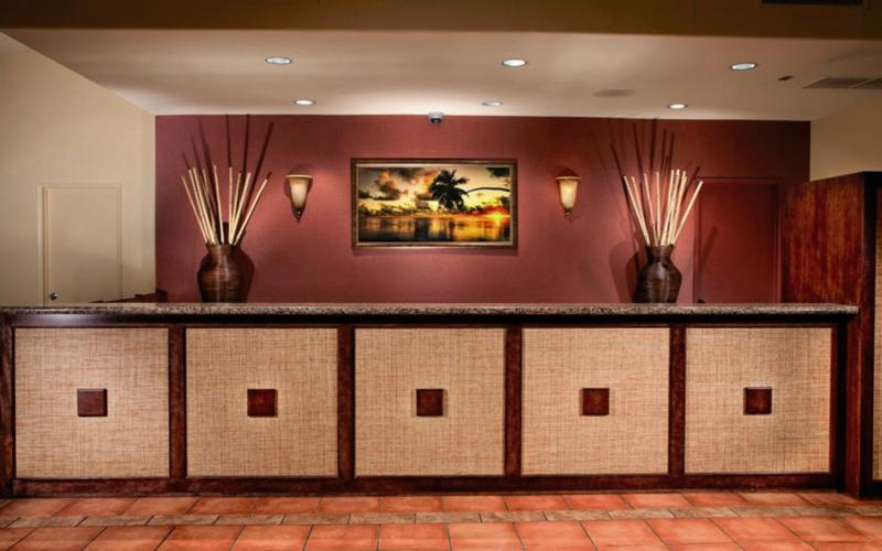 Best Western Seven Seas Lounge/Empfang