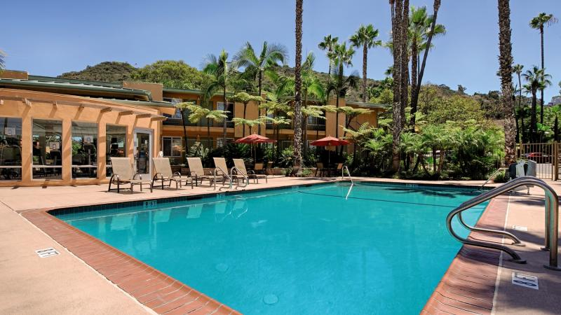 Best Western Seven Seas Pool