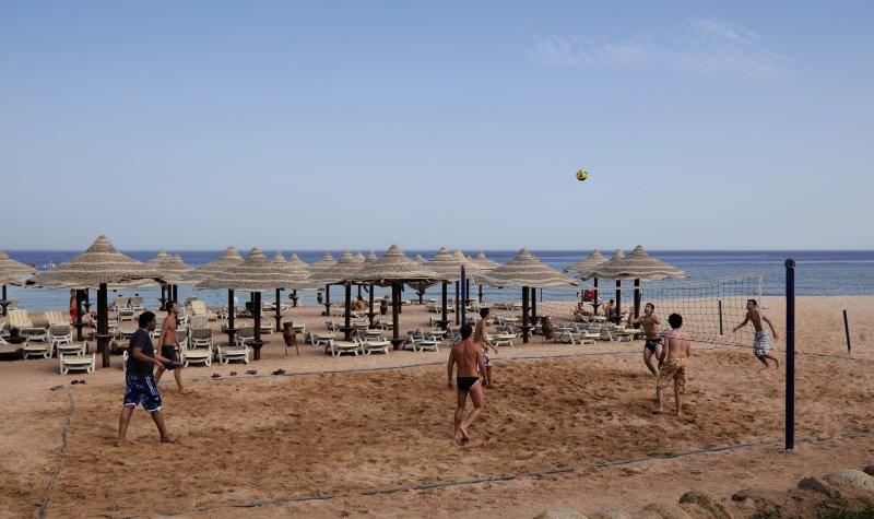 Coral Beach Resort Montazah Sport und Freizeit