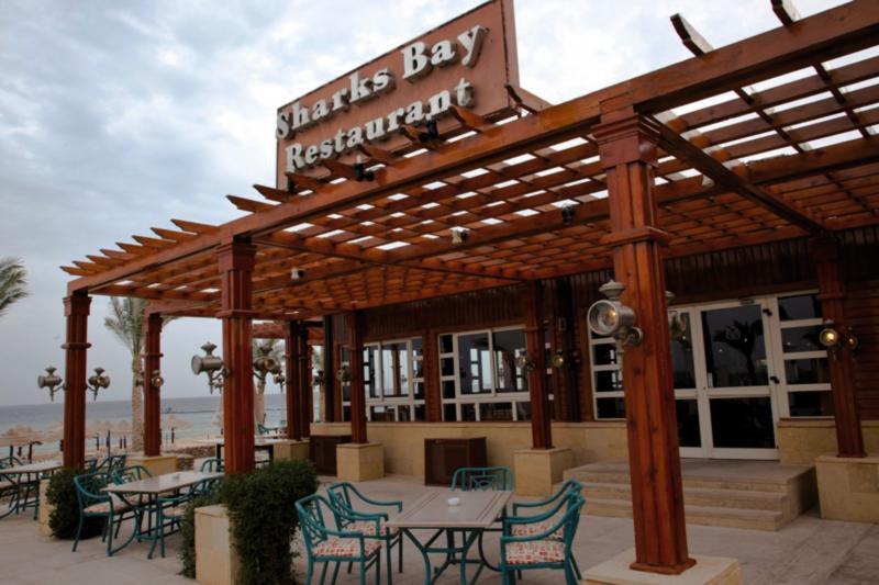 Coral Beach Resort Montazah Terrasse