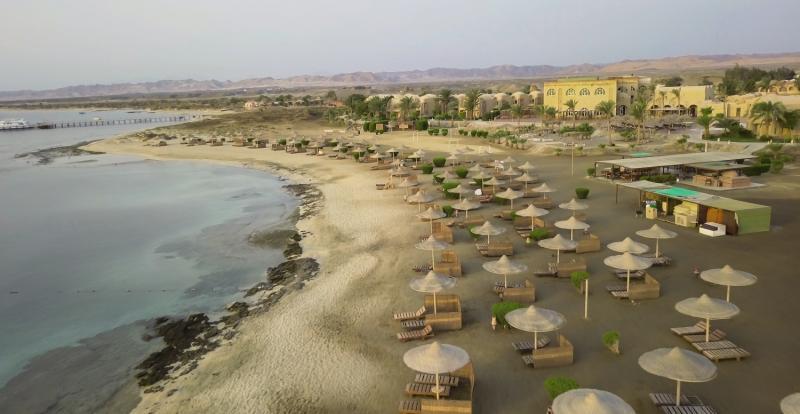 Shams Alam Beach Resort Landschaft