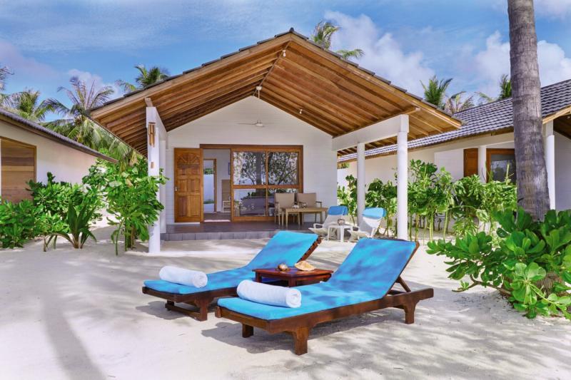 Innahura Maldives Resort Terrasse