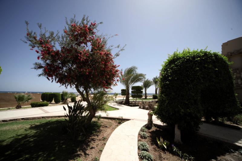 Shams Alam Beach Resort Garten