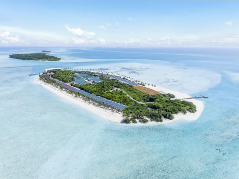 Innahura Maldives Resort Landschaft